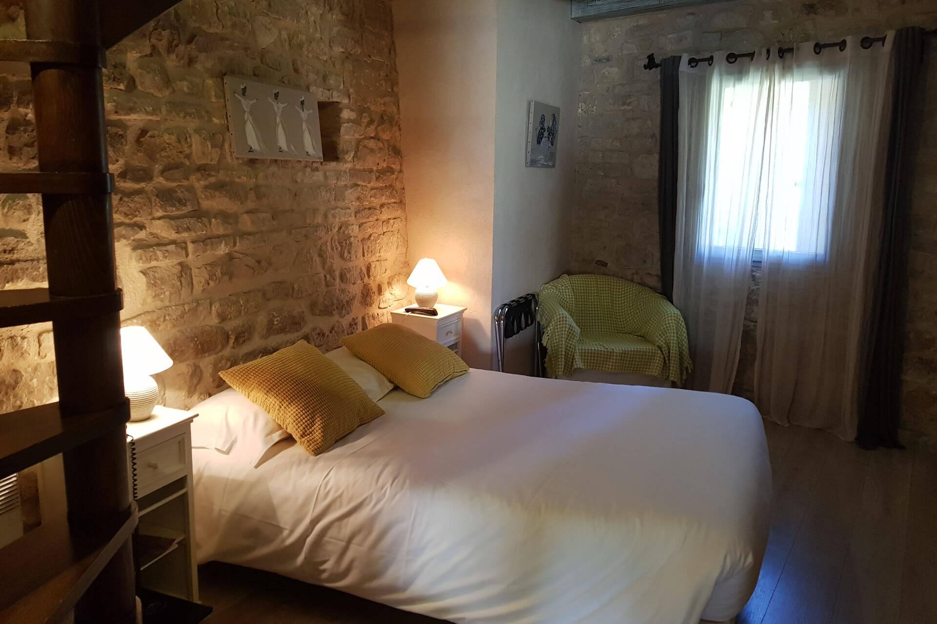 Chambre d'hôtel Le Crillon***